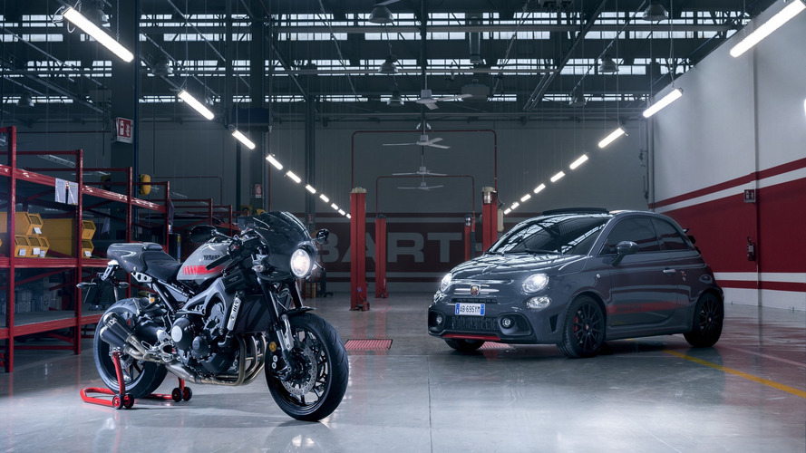 Abarth 695C concept pays tribute to Yamaha XSR 900