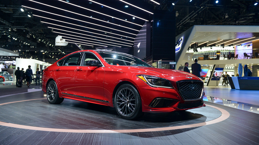 Genesis G80 Sport powers into L.A. with 365-hp V6