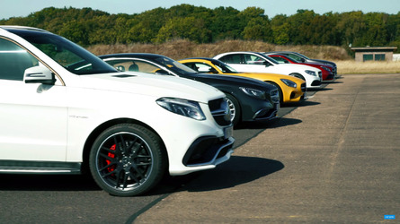 Watch Mercedes-AMG models drag race each other, but why no E63?