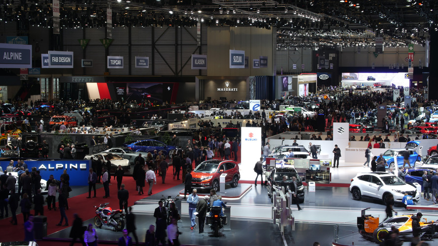 Take a virtual tour of the 2017 Geneva Motor Show