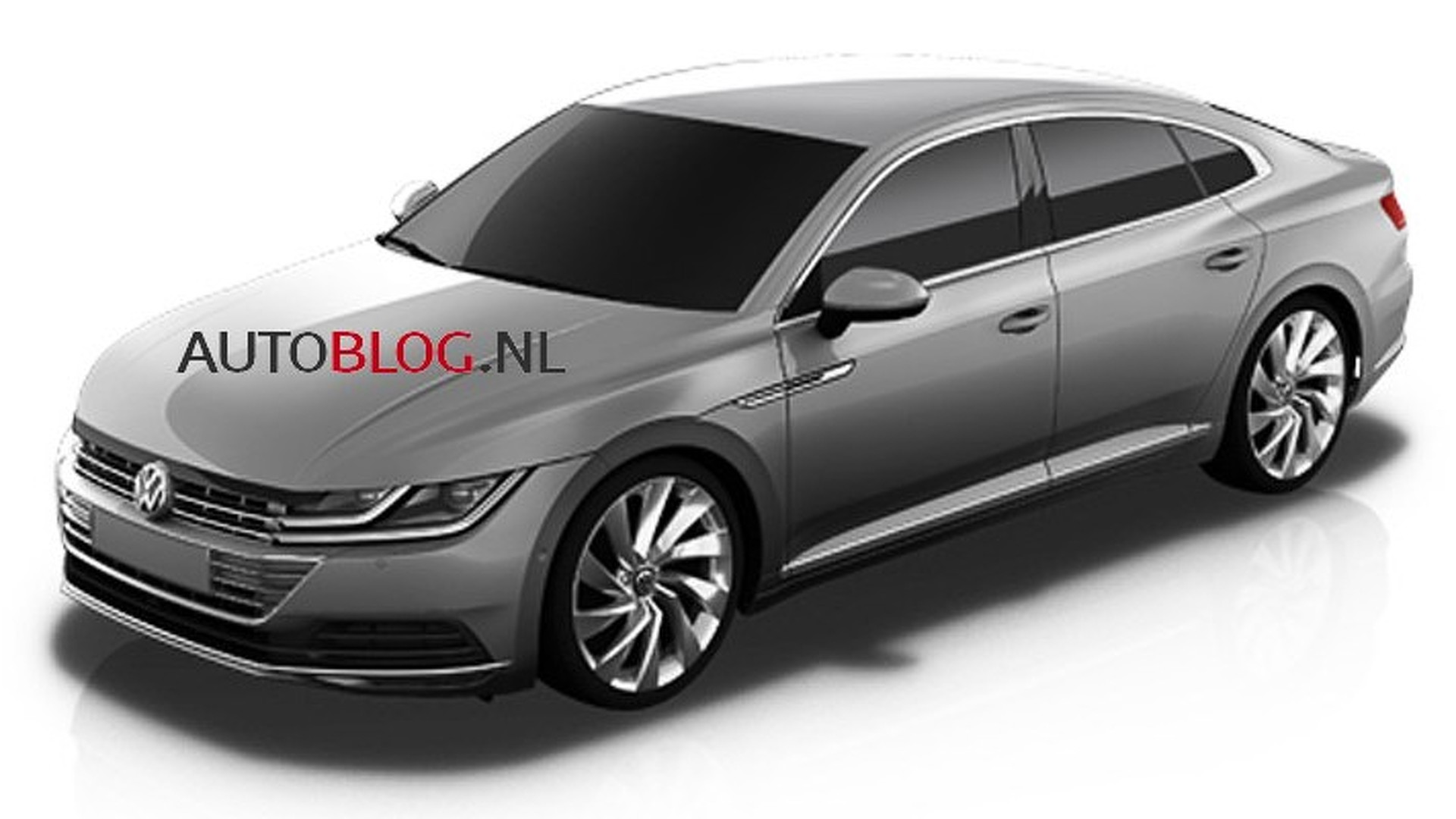 volkswagen cc 2018 les premi res images officielles. Black Bedroom Furniture Sets. Home Design Ideas