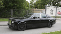 2018 Rolls-Royce Phantom test mule spied for the first time