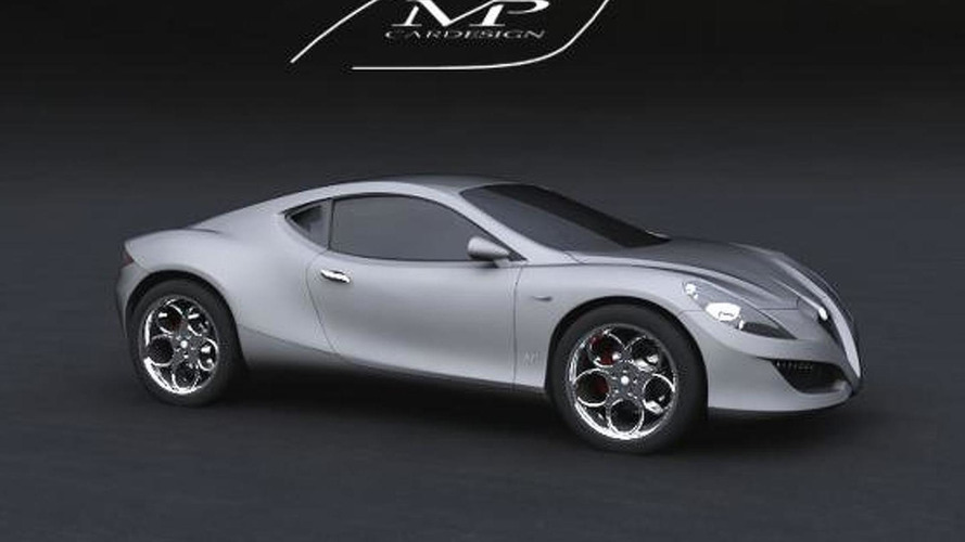 Concept Alfa Carlo Chiti design proposal [video]