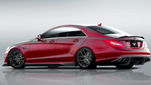 Vorsteiner previews their tuning program for the Mercedes CLS 63 AMG