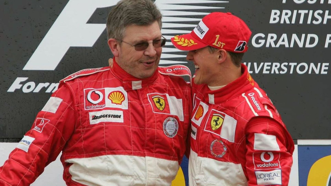 Ross Brawn & Michael Schumacher had a very successful stint together at Scuderia Ferrari