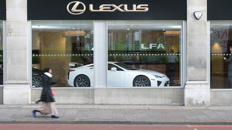 Lexus LFA to sell, not lease in Europe