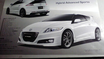 2010 MUGEN Honda CR-Z leaked brochure scans 09.12.2009