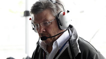 Brawn at factory, not on fishing holiday - Mercedes