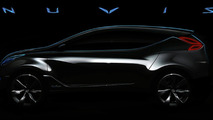 Hyundai Nuvis Concept Teaser Image Released