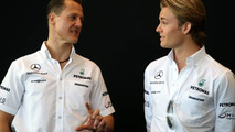 Rosberg wants to stay 'at eye-level' with Schu