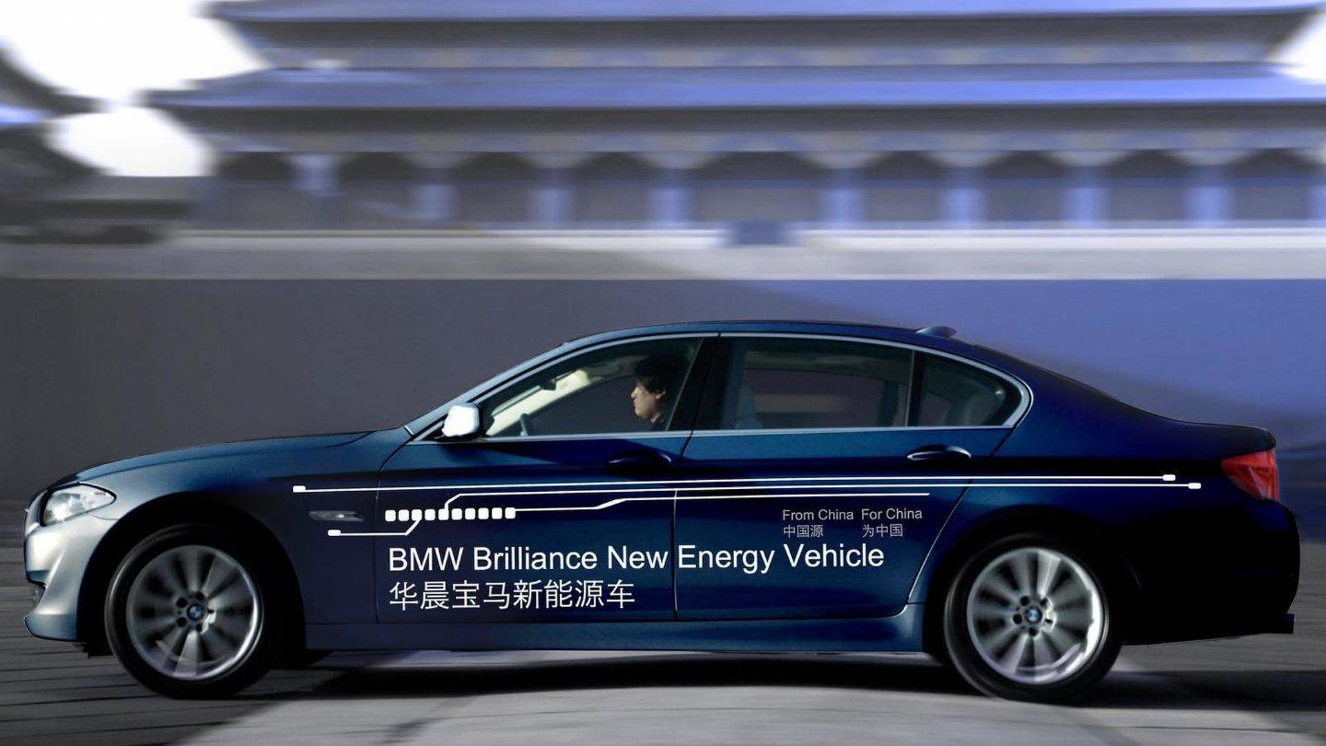 BMW and Chinese partner Brilliance Automotive considering new brand for export markets
