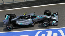 Rivals say Mercedes not easily caught
