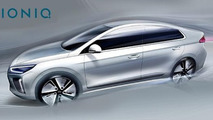Hyundai IONIQ previewed in two new teasers