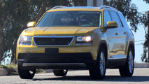 Volkswagen CrossBlue spy photos