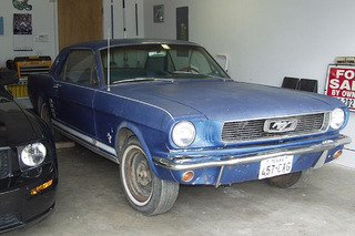 There's a Beautiful '66 Ford Mustang Under All This Dust