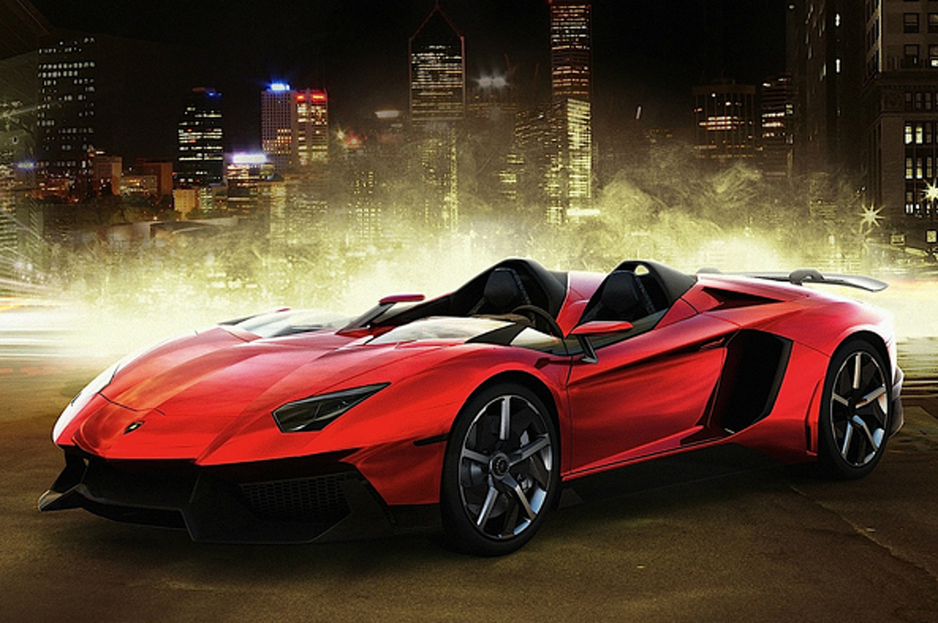 Most Popular: 2012 Lamborghini Aventador J