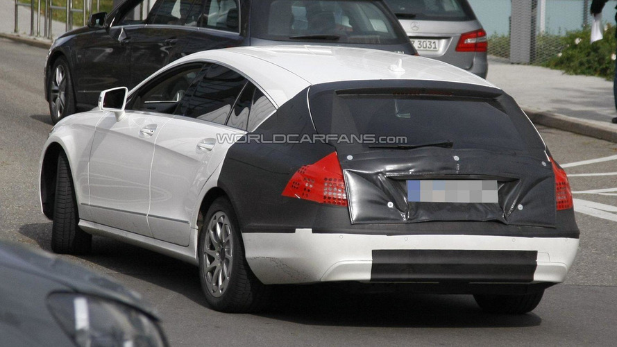 2013 Mercedes CLS Shooting Break Spy Video