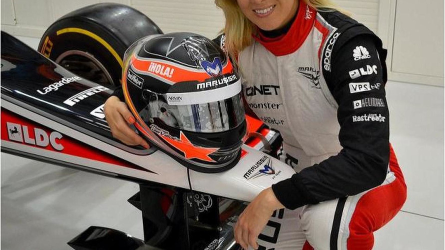 Maria de Villota fighting for life after F1 crash