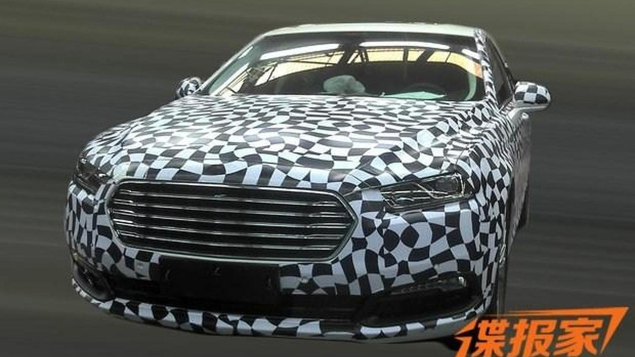2016 Ford Taurus spy photo