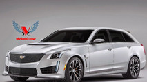 Cadillac CTS-V Wagon gets rendered