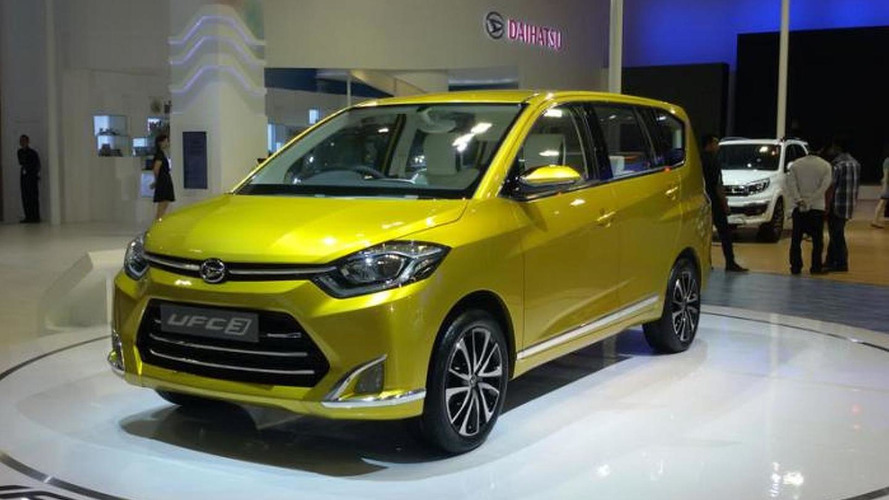 Daihatsu UFC-3 Concept makes public debut at Indonesian Motor Show