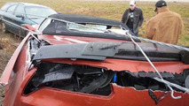 2015 Chevrolet Corvette Z06 Convertible crash
