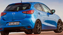 2015 Mazda2 gets virtual speculative MPS treatment