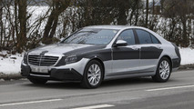 2013 Mercedes-Benz S-Class spy photo 29.01.2013 / Automedia