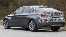 BMW 5-Series GT facelift spied with less camouflage