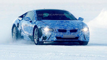 BMW i8 production version spied once again