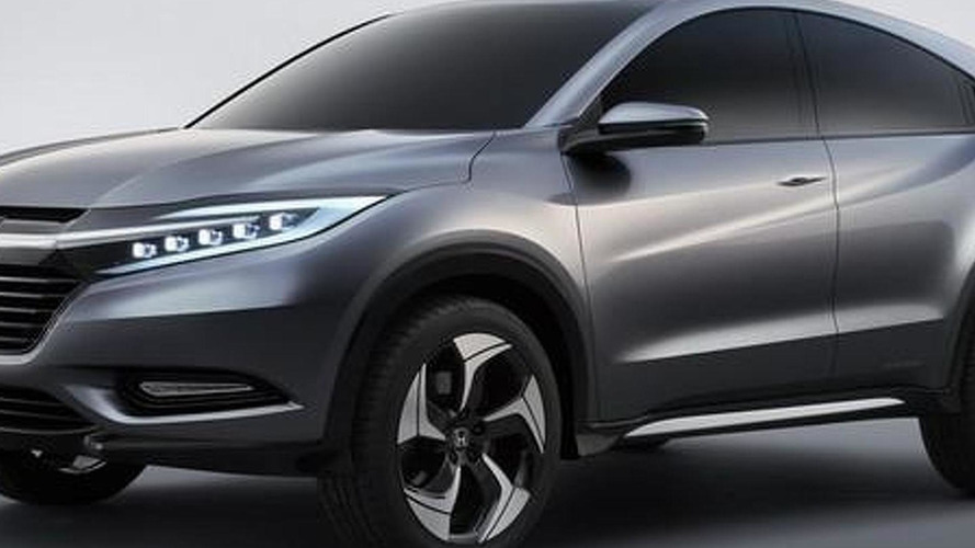 Honda Urban SUV Concept previews Jazz-based compact crossover