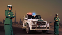 Brabus B63S - 700 Widestar for Dubai police