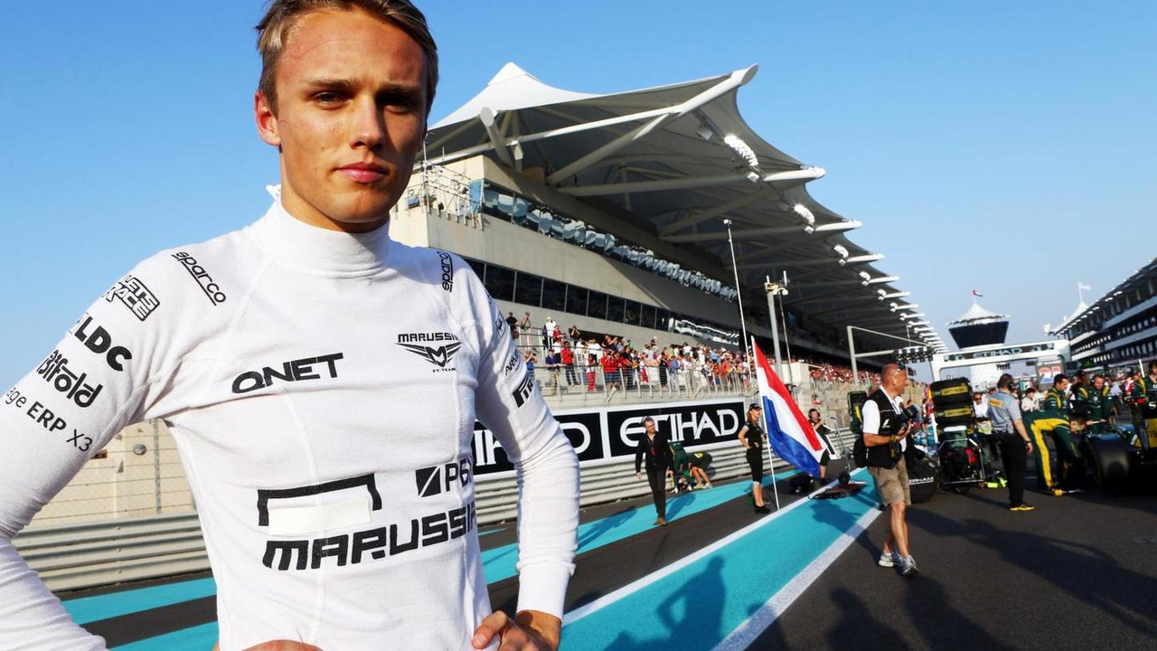 Max Chilton 03.11.2013 Abu Dhabi Grand Prix
