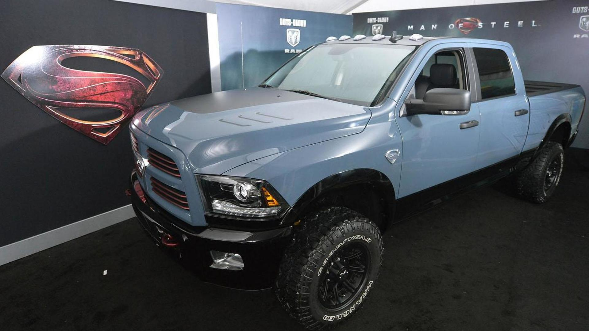 Superman-themed Ram 2500 Power Wagon up for auction
