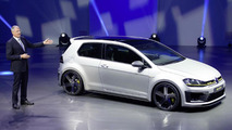 Volkswagen Golf R 400 production version could have even more power