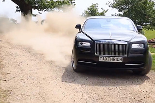 Watch a Rolls-Royce Wraith Get Taste of the Rally Life