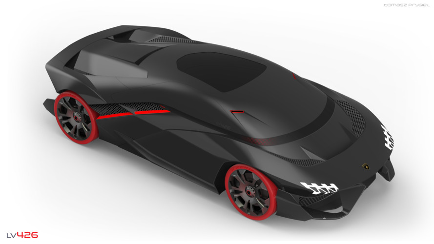 Student designs Lamborghini with augmented reality and virtual racing