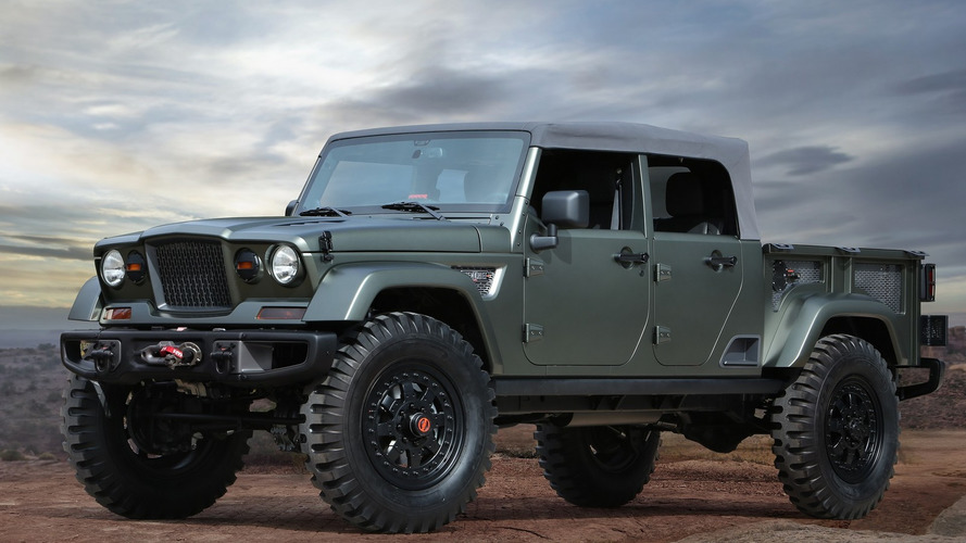 Jeep Crew Chief concept previews the company's upcoming pickup
