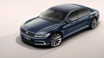 Next generation Volkswagen Phaeton render shows a bigger Passat