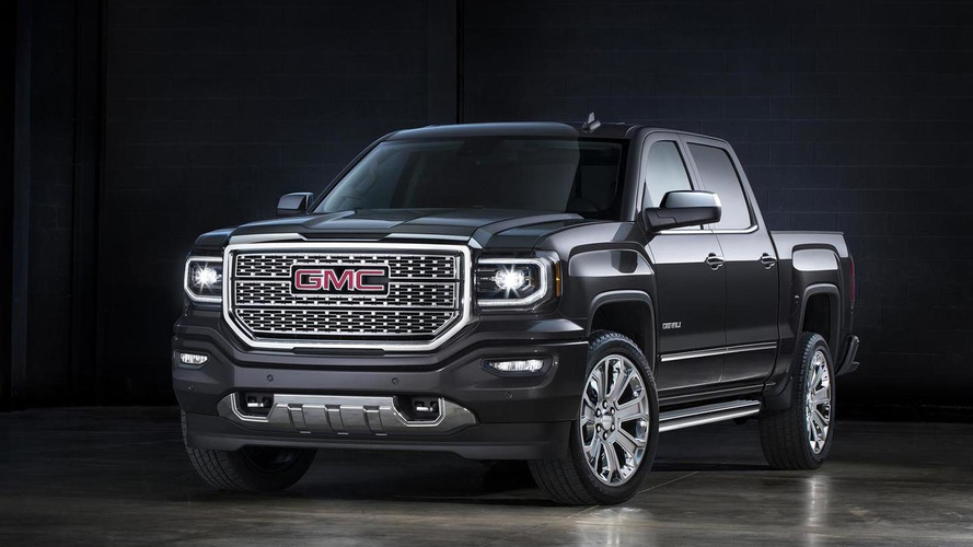 2016 GMC Sierra introduced with updated front fascia and revised LED lighting [video]