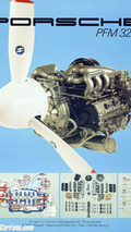 Aircraft engine PFM 3200 from 1981