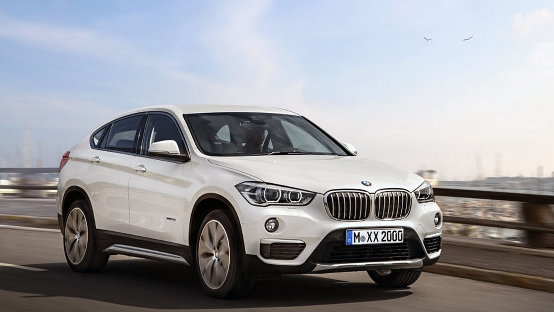 first ever bmw x2 speculatively rendered ahead of 2017 launch. Black Bedroom Furniture Sets. Home Design Ideas