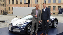 Bugatti Veyron Grand Sport L'Or Blanc unveiled