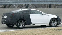 Cadillac CTS Coupe Spied