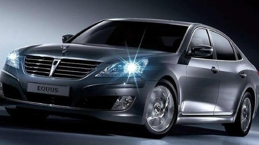 Hyundai Equus Heading Stateside in 2010