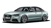 Audi RS6 ready for 2012? [video rendering]