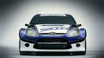 Ford Fiesta S2000 Rally Car