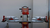 Ferrari using same front wing as in Hungary