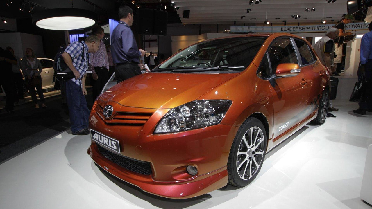 Toyota Auris TRD Supercharged live in South Africa 11.10.2011
