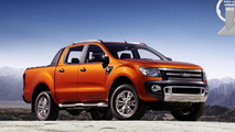 New Ford Ranger has won the International Pick-Up Award 2013